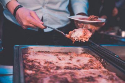 Feestzaal Highstreet - lasagna
